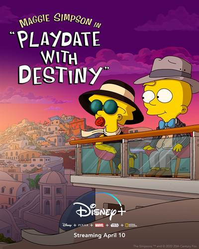 Maggie Simpson in Playdate with Destiny to Stream on Disney Plus Beginning Tomorrow