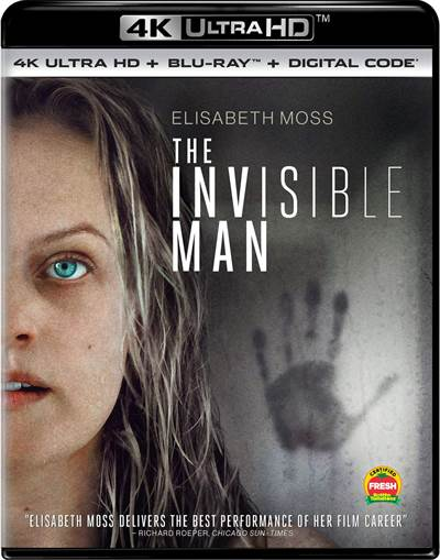 Enter To Win A Copy of The Invisible Man in 4K UHD
