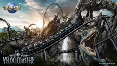 Jurassic World VelociCoaster Comes To The Universal Orlando Resort in 2021