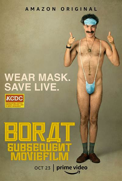 Whip Up Your Best BORAT Costume… You Could Win A $1000 Amazon Gift Card!