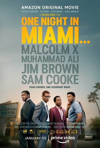 Be One of The First To See One Night In Miami