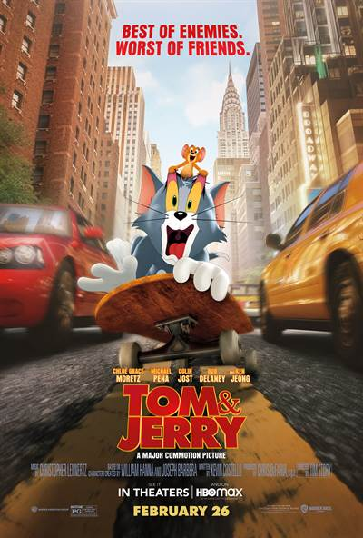 See Tom & Jerry's New Film For Free