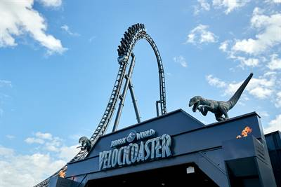 Jurassic World VelociCoaster to Open in Universal Orlando Resort on June 10