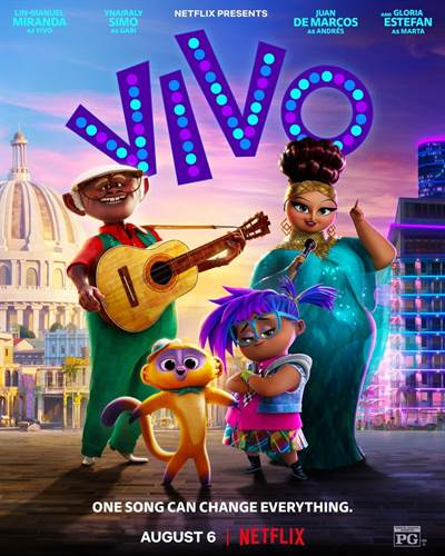 Get Passes To See An Advanced Screening of VIVO in Miami, FL
