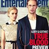 "Alexander Skarsgård and Anna Paquin are Gothic on Cover of ""Entertainment Weekly"""