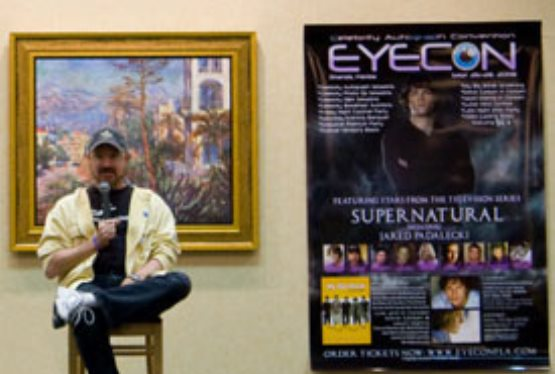 Supernatural Fans Get Up Close and Personal With Stars of The Show at EyeCon 2008