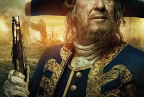 "Geoffrey Rush ""Pirates"" Poster Released"