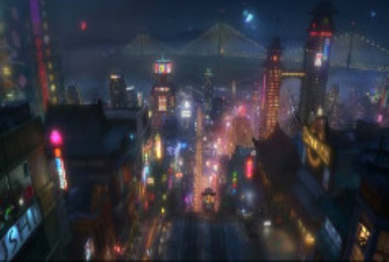 Take a Look at Big Hero 6 - Disney's Next Animated Film