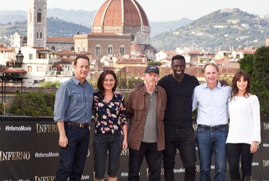 "Principal Photography Begins On ""Inferno"" Third Robert Langdon Movie Starring Tom Hanks and Directed By Ron Howard"