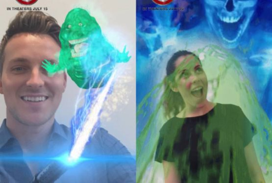 Sony Pictures Ghostbusters Offers First-Ever Front and Rear-Facing Lens on Snapchat