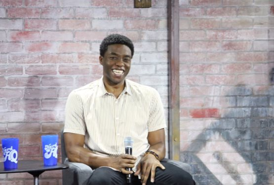 Black Panther, Chadwick Boseman, Stops By Nerd HQ 2016 For A Chat
