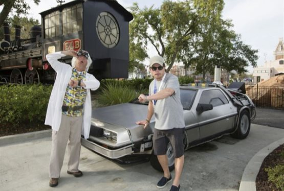 Great Scott! Marty McFly and Doc Brown Reunite at Universal Orlando