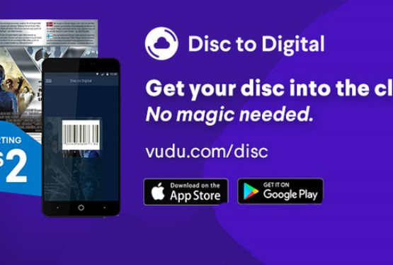 Vudu Update Allows for Disc to Digital Movie Conversions