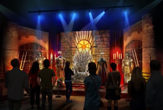 HBO GLOBAL LICENSING® PARTNERS WITH GES EVENTS TO PRESENT  GAME OF THRONES®: THE TOURING EXHIBITION