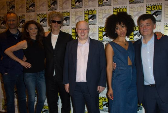 The Current Doctor Who Team Takes The Stage At Comic Con For One Final Time