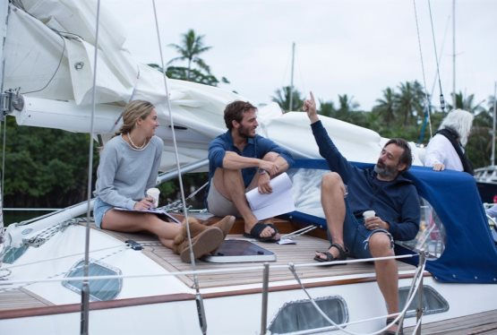 Director Baltasar Kormakur Discusses Adrift and Why It Was Important to Shoot On Open Water