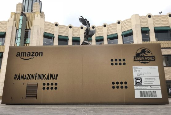 Amazon and Jurassic World: Fallen Kingdom Team Up to Make Amazon's Largest Delivery in History
