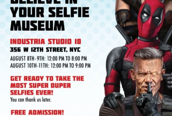 Deadpool and Friends' Believe in Your Selfie Museum Coming to NYC