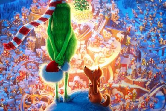 The Grinch Brings Holiday Cheer To a Special Group of Kids