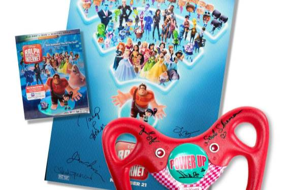Bid On the Sugar Rush Steering Wheel from Ralph Breaks the Internet!