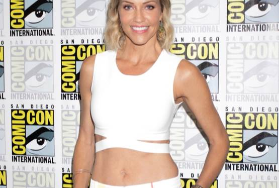 Tricia Helfer, Talks Creepshow at Comic Con 2019