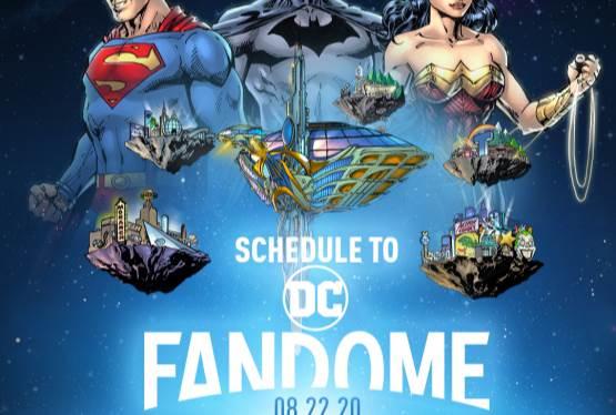 DC FanDome Schedule Released