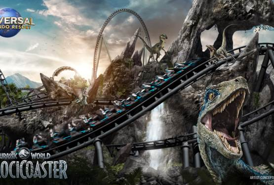Jurassic World VelociCoaster Comes To The Universal Orlando Resort in 2021