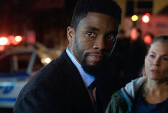Chadwick Boseman Cut Salary for 21 Bridges to Pay More to Sienna Miller