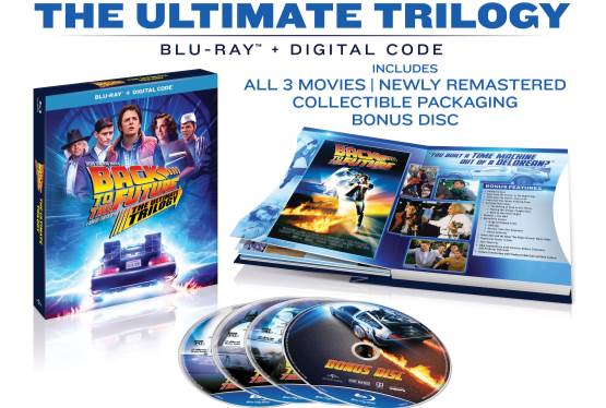 Win A Copy of The Back to the Future: The Ultimate Trilogy Blu-ray
