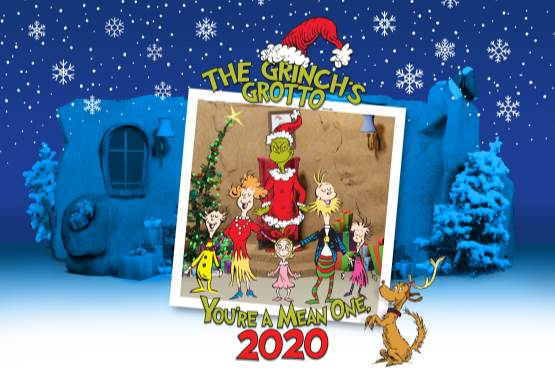 The Grinch's Grotto Coming to Select Malls This Holiday Season
