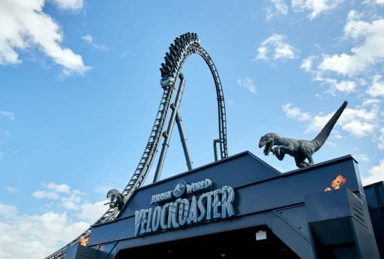 Jurassic World VelociCoaster to Open in Universal Orlando Resort on June 10