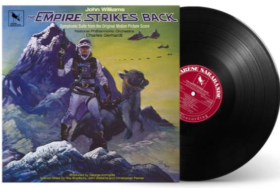 Star Wars: The Empire Strikes Back (Original Motion Picture Score) Returning to Vinyl