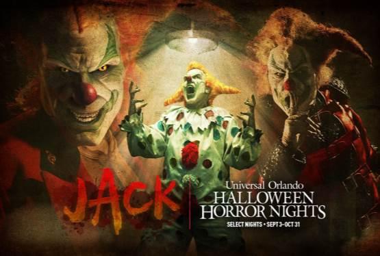 Universal Orlando Announces the Return of Jack the Clown for HHN30