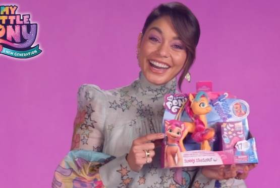The Cast of My Little Pony: A New Generation Unboxes Their Character's Corresponding Toy