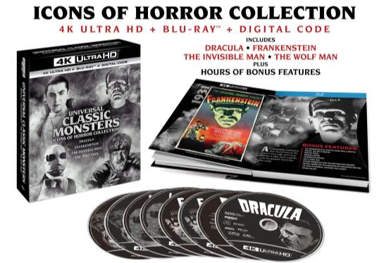 Universal's Classic Movie Monsters Come to 4K UHD