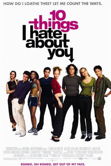 10 Things I Hate About You © Touchstone Pictures. All Rights Reserved.