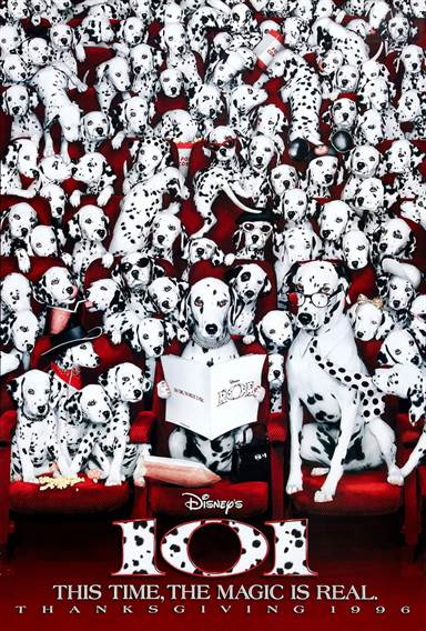 101 Dalmatians © Walt Disney Pictures. All Rights Reserved.