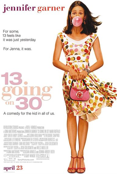 13 Going on 30 © Columbia Pictures. All Rights Reserved.