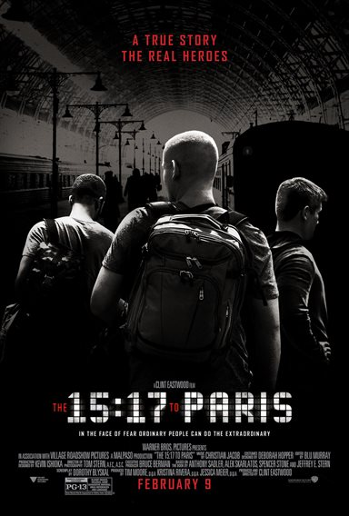 The 15:17 to Paris © Warner Bros.. All Rights Reserved.