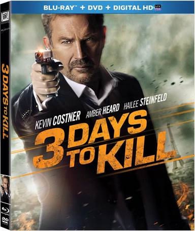 3 Days to Kill Blu-ray Review