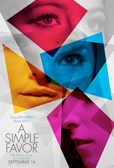 A Simple Favor © Lionsgate. All Rights Reserved.