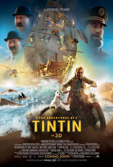 The Adventures of Tintin © Paramount Pictures. All Rights Reserved.