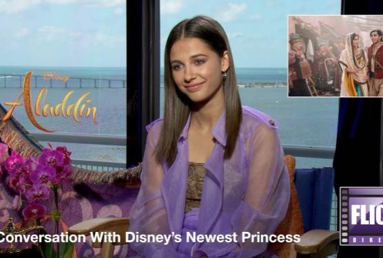 Princess Jasmine Herself, Naomi Scott, Sits Down For A Chat