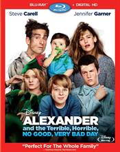 Alexander and the Terrible, Horrible, No Good, Very Bad Day Blu-ray Review