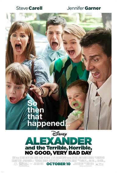 Alexander and the Terrible, Horrible, No Good, Very Bad Day Theatrical Review