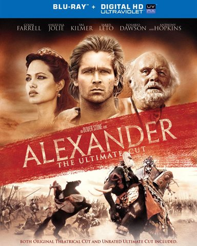 Alexander, The Ultimate Cut (10th Anniversary Edition) Blu-ray Review
