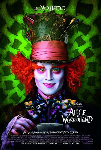 Alice In Wonderland © Walt Disney Pictures. All Rights Reserved.