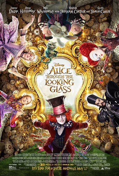 Alice Through the Looking Glass © Walt Disney Pictures. All Rights Reserved.
