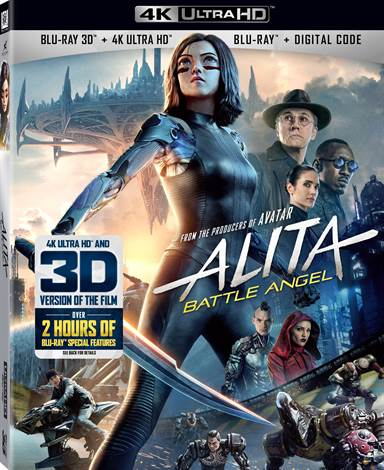 Alita: Battle Angel 4K Ultra HD Review