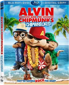 Alvin and the Chipmunks: Chipwrecked Blu-ray Review